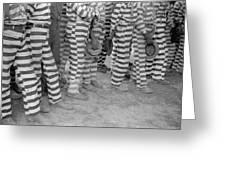 Georgia Prisoners, 1941 Greeting Card