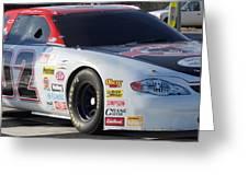 Georgia Racing Hall Of Fame Car Greeting Card