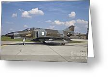 German Air Force F-4f Phantom II Greeting Card