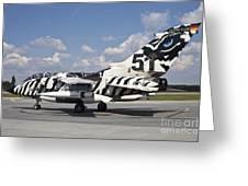 German Air Force Tornado Aircraft Greeting Card