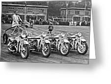German Chariots At Potsdam Greeting Card