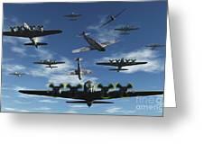 German Sonderkommandos Ram Allied Greeting Card