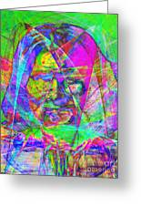 Geronimo 20130611 Greeting Card by Wingsdomain Art and Photography