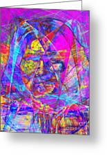 Geronimo 20130611gre-p180 Greeting Card by Wingsdomain Art and Photography