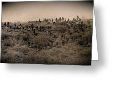 Geronimo's Band Of Warriors 1886-2012 Greeting Card