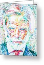 Gerry Mulligan - Portrait Greeting Card