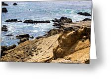 Gerstle Coastline Greeting Card