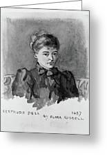 Gertrude Bell (1868-1926) Greeting Card