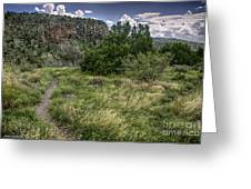 Get Off The Road And Enjoy Nature Greeting Card
