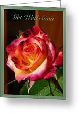 Get Well Soon Greeting Card by Heike Ward
