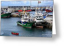 Getaria Fishing Fleet Greeting Card