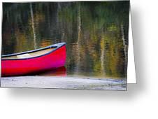 Getaway Canoe Greeting Card