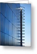 Getty Center Ladder Greeting Card
