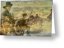Gettysburg Anniversary 150 Years Greeting Card