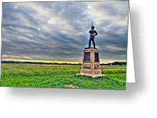 Gettysburg Battlefield Soldier Never Rests Greeting Card by Andres Leon