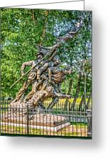 Gettysburg Battleground Memorial Greeting Card