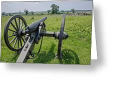 Gettysburg Cannon 2  Greeting Card
