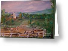Gettysburg Farm Greeting Card