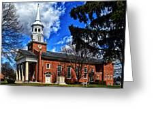 Gettysburg Lutheran Seminary Chapel Greeting Card