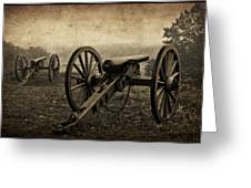 Gettysburg Revisited Greeting Card