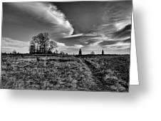 Gettysburg Sky Greeting Card