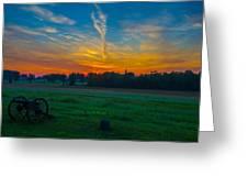 Gettysburg Sunrise Greeting Card