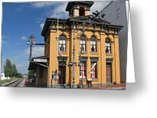 Gettysburg Train Station Greeting Card