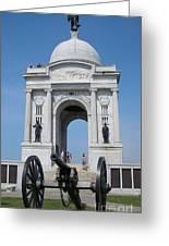 Gettysburg Union Monument Greeting Card