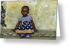 Ghanaian Child Greeting Card
