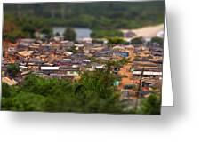 Ghanaian Village Greeting Card