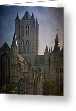 Ghent Skyline Greeting Card