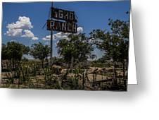 Gho Ranch Greeting Card