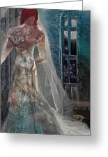Ghost Bride Greeting Card