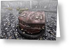 Ghost Cars Greeting Card