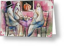 Ghost Gathering Greeting Card