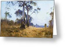 Ghost Gum At Kangaroo Flat Greeting Card