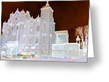 Ghost Manor Of Darkling Moor Greeting Card