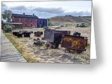 Ghost Mining Town Of Montana Greeting Card