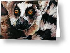 Ghost Of Madagascar Greeting Card