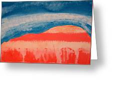 Ghost Ranch Original Painting Greeting Card