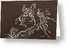 Ghost Riders In The Sky Greeting Card