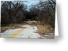Ghost Road IIi Greeting Card