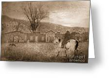 Ghost Town #2 Greeting Card