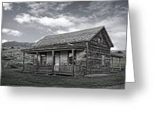 Ghost Town Homestead - Montana Greeting Card