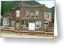 Ghost Town Of Saint Elmo Greeting Card