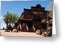 Ghost Town Saloon Greeting Card