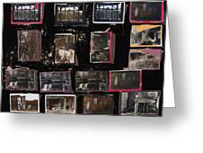 Ghost Towns Collage 1967-2012 Greeting Card