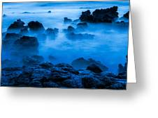 Ghostly Ocean 1 Greeting Card
