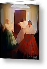Ghosts Of A Louisianna Plantation Greeting Card