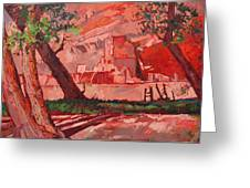 Ghosts Of Chelly Greeting Card by Erin Hanson